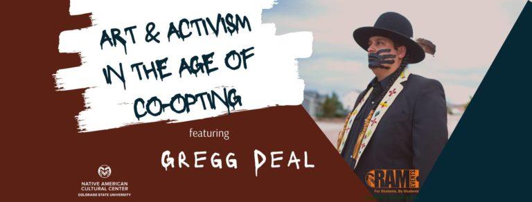 Indigenous Peoples Day Speaker: Gregg Deal