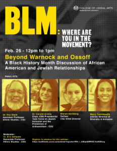 BLM: Where are you in the movement? poster