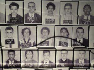Black and Jewish individual's mugshots from Jackson, Mississippi