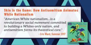 Skin in the Game: How Antisemitism Animates White Nationalism