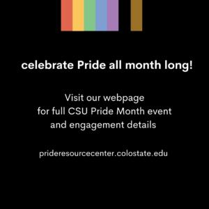 Celebrate Pride Month with the Pride Resource Center