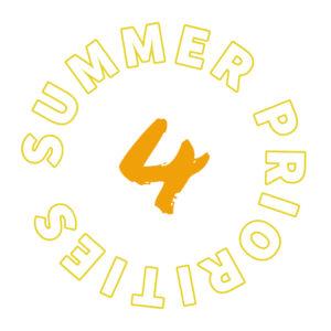 Summer priority 4