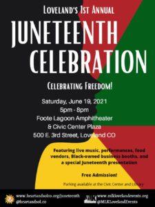 Juneteenth 2021 Celebration in Loveland