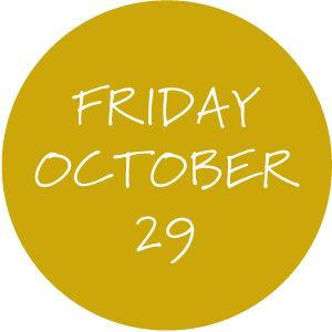 Friday, October 29