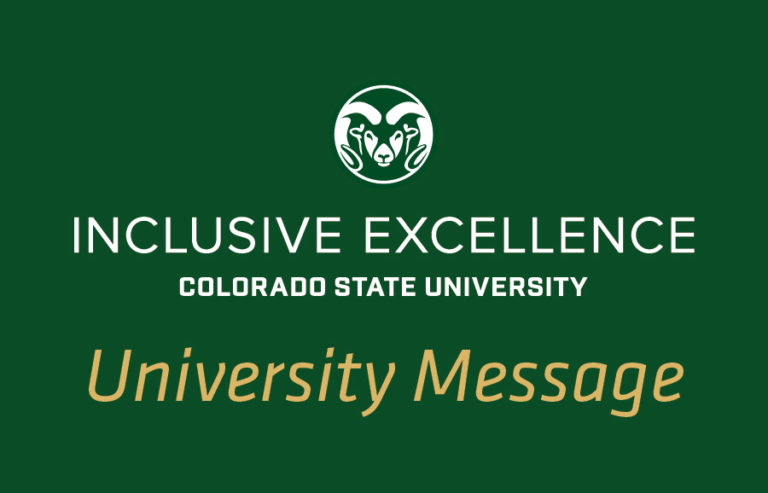 A message from the Office of Inclusive Excellence