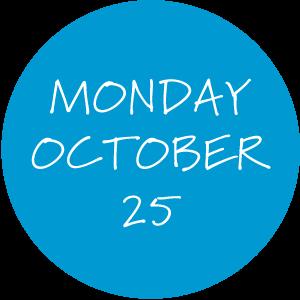 Monday, October 25