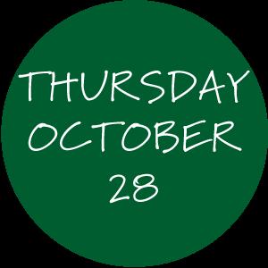 Thursday, October 28