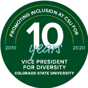 10 year anniversary of the Vice President for Diversity Office, from 2010 to 2020